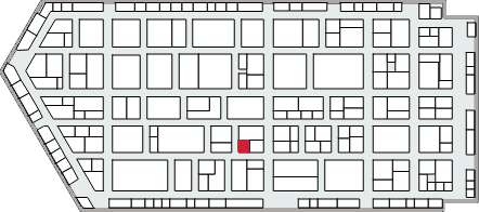 Embedded World 2018 floor plan: hall 4, booth 535